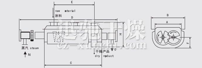 干燥机安装结构图